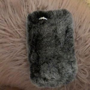 Accessories - Fuzzy iPhone case